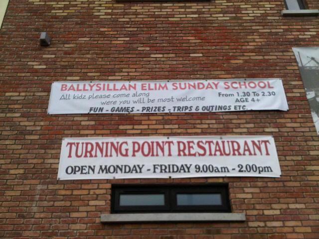 Ballysillan Elim Church Sunday School banner